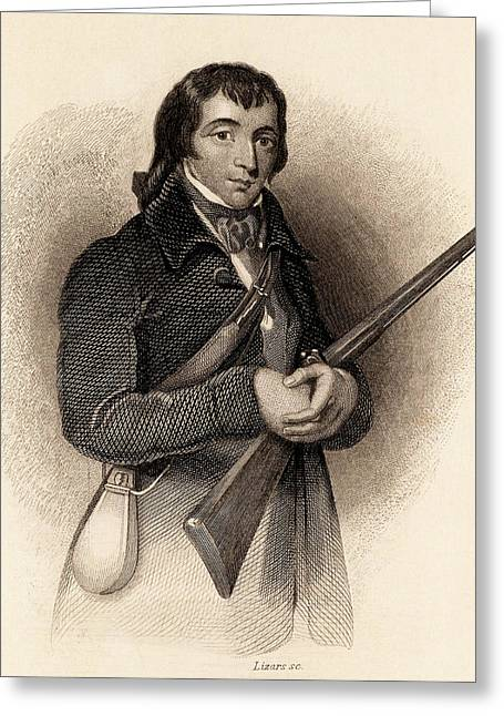 Alexander Wilson Greeting Card by Universal History Archive/uig