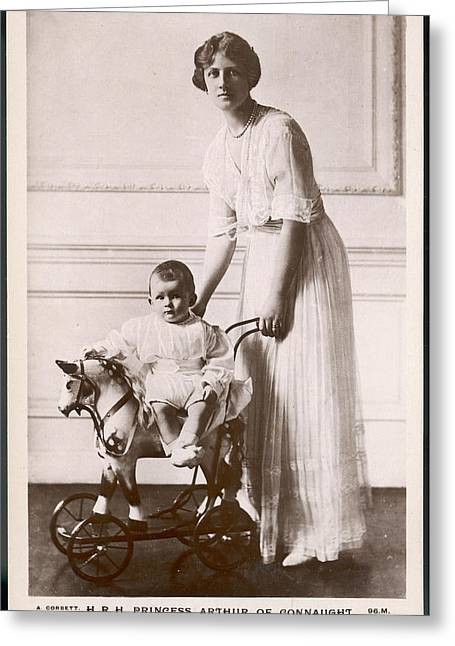Alexandra Duchess Of Connaught Wife Greeting Card by Mary Evans Picture Library