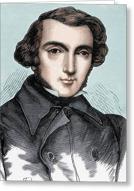 Alexis Henri Clerete, Earl Greeting Card by Prisma Archivo