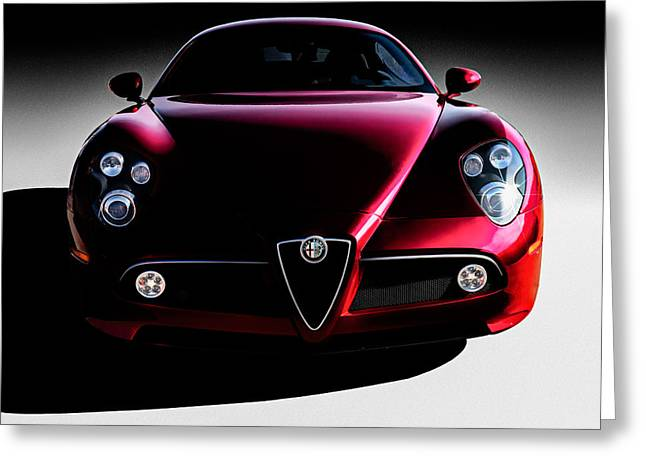 Alfa Romeo 8c Greeting Card by Douglas Pittman