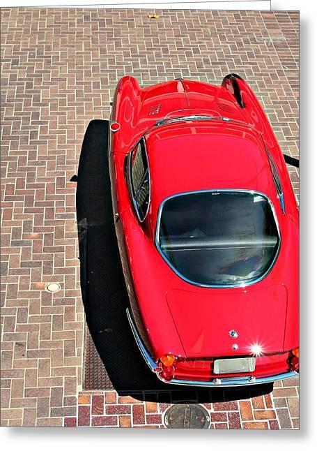 Alfa Romeo Giulietta Sprint Speciale Greeting Card