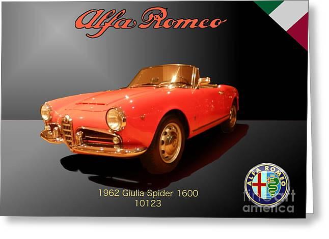Alfa Romeo Greeting Card