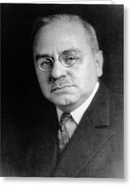 Alfred Adler Greeting Card by National Library Of Medicine