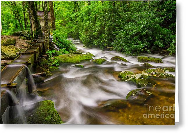 Alfred Reagans Mill Greeting Card by Anthony Heflin
