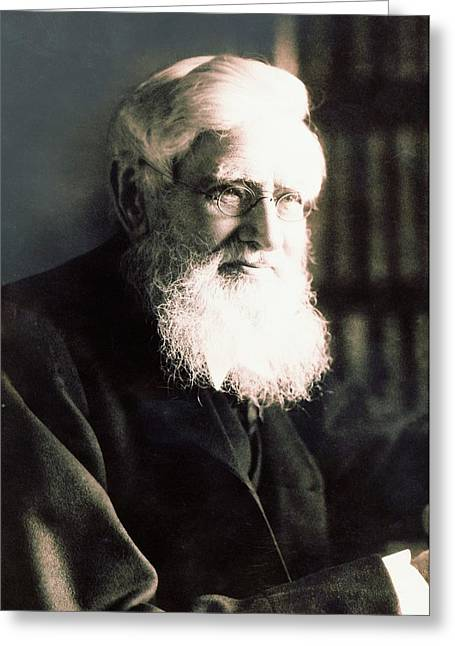 Alfred Russel Wallace Greeting Card by American Philosophical Society