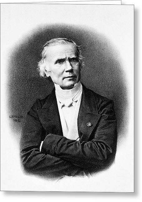 Alfred Velpeau Greeting Card by National Library Of Medicine