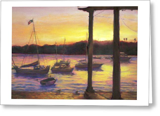 Algarve Sunset Greeting Card