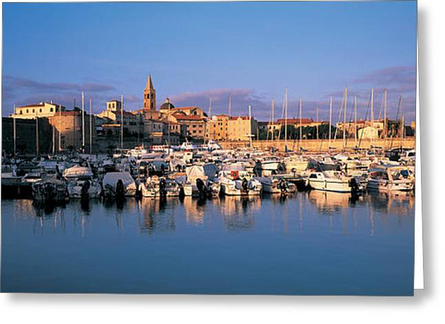 Alghero Sardinia Italy Greeting Card by Panoramic Images