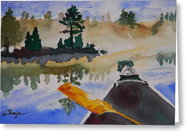 Algonquin Provincial Park Ontario Canada  Greeting Card by Warren Thompson