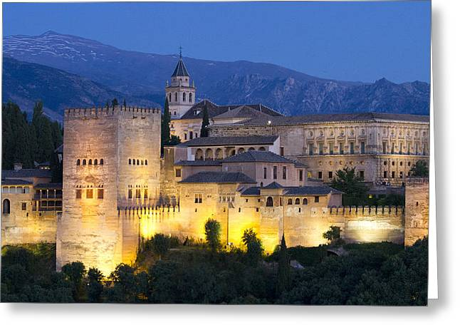 Greeting Card featuring the photograph Alhambra Palace  by Nathan Rupert