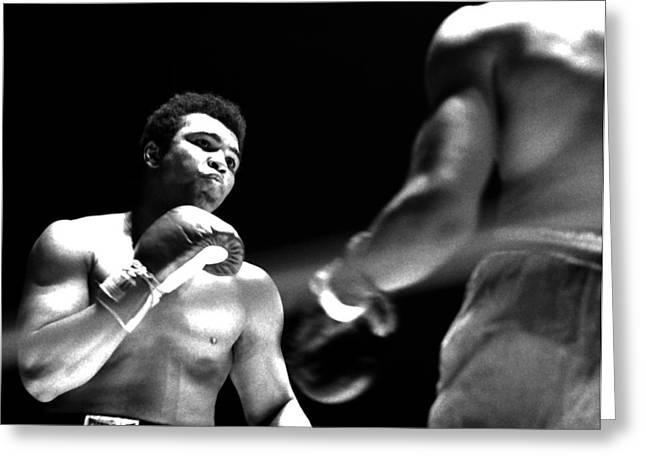 Ali - The Look Greeting Card by Robert  Rodvik