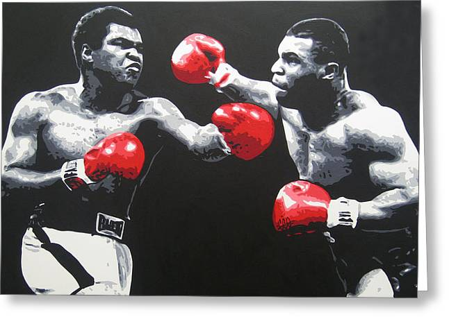 Ali V Tyson Greeting Card
