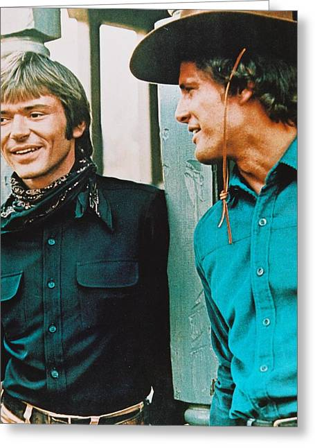 Alias Smith And Jones  Greeting Card by Silver Screen