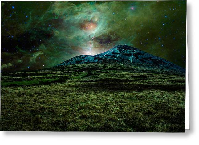 Alien World Greeting Card by Semmick Photo