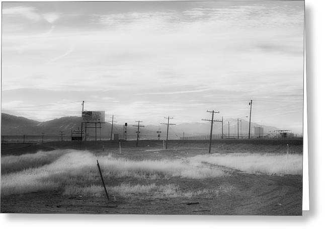 All American Landscape Greeting Card by Hugh Smith