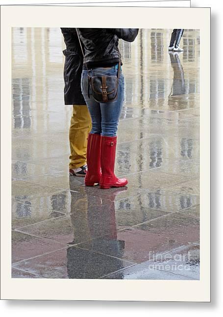 All Day Rain Greeting Card