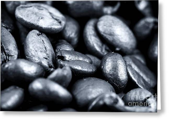 All In The Beans Greeting Card by John Rizzuto