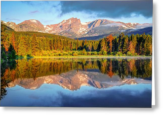 All Is Calm - Rocky Mountain National Park Greeting Card by Gregory Ballos