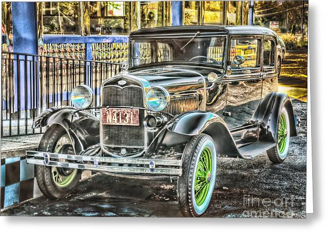 All Shined Up Greeting Card by Arnie Goldstein