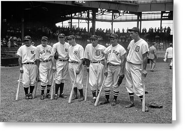 All-star Game, 1937 Greeting Card