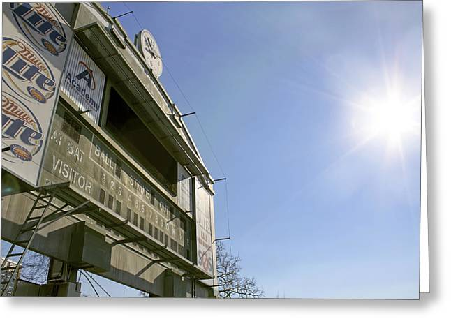 All That Remains Of Ray Winder Field Greeting Card by Jason Politte
