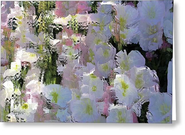 All The Flower Petals In This World Greeting Card by Kume Bryant