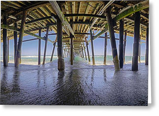 All The Way Under The Pier Greeting Card by Scott Campbell