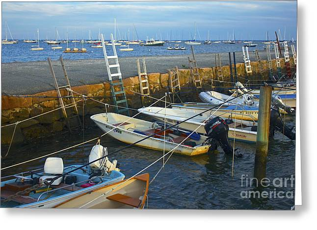 All Tied Up In Mattapoisett Greeting Card by Amazing Jules