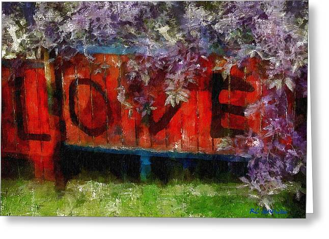 All You Need Is... Greeting Card by RC deWinter