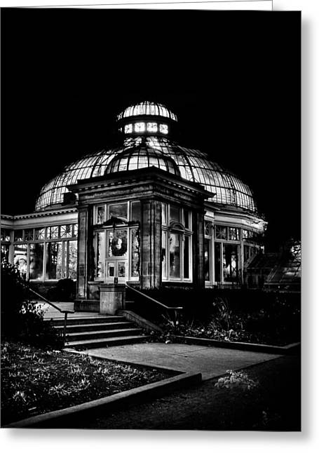 Allan Gardens Conservatory Palm House Toronto Canada Greeting Card by Brian Carson