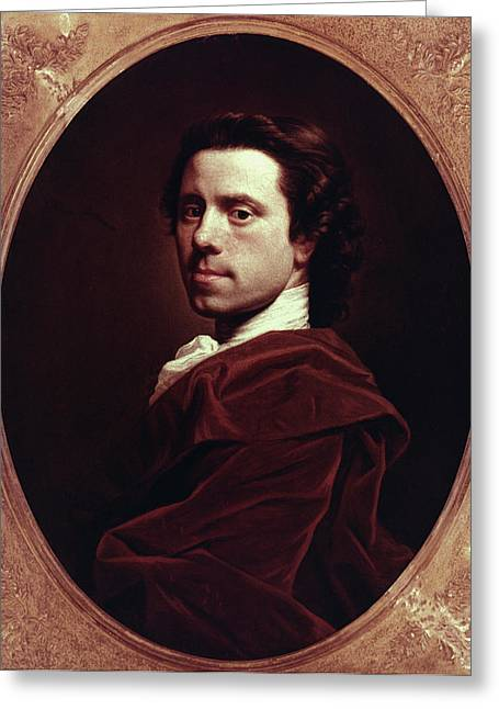 Allan Ramsay (1713-1784) Greeting Card by Granger