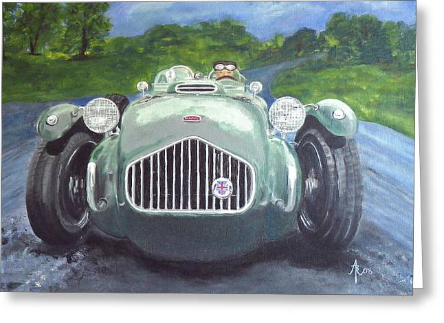 Allard J2x Greeting Card