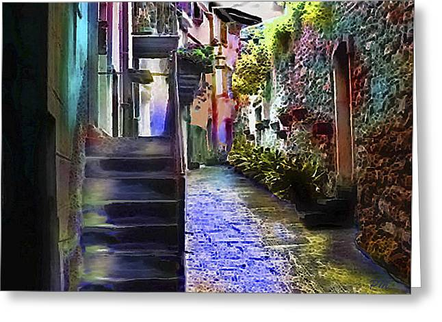 Alley Greeting Card