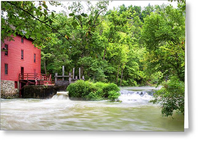 Alley Spring And Mill, Ozark National Greeting Card
