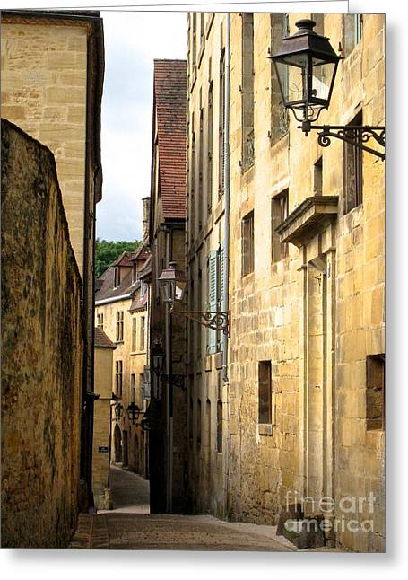 Alleys Of Sarlat Greeting Card