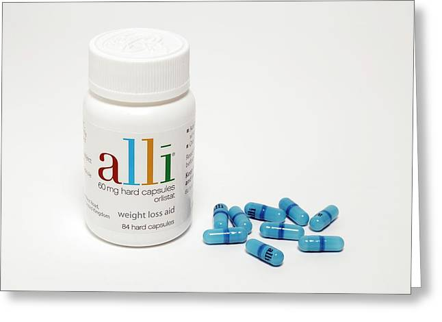 Alli Weight-loss Drug Greeting Card
