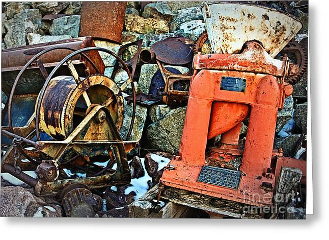 Allis Chalmers 1898 Greeting Card by Lee Craig