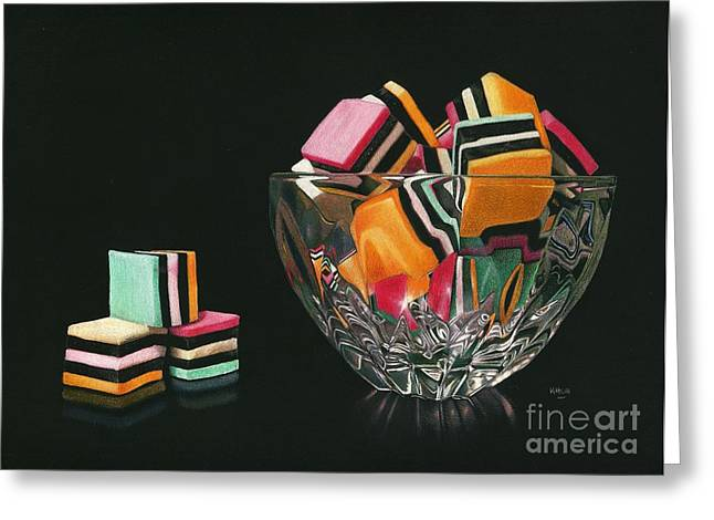 Allsorts Of Temptation Greeting Card