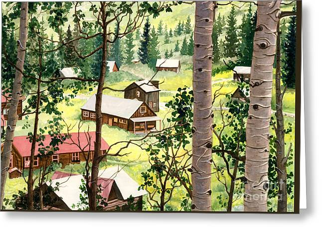 Almost Heaven Greeting Card by Barbara Jewell