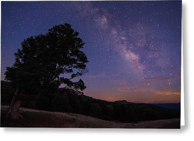 Almost Heaven Greeting Card by Sean Mathews