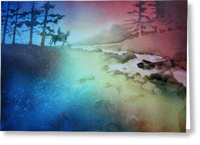 Almost Home Greeting Card by John  Svenson