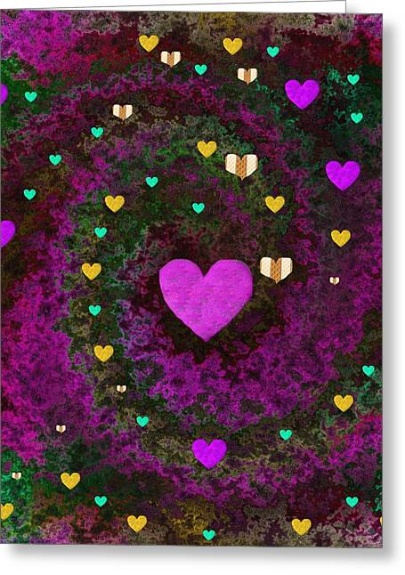 Almost Mandelbrot Greeting Card by Pepita Selles