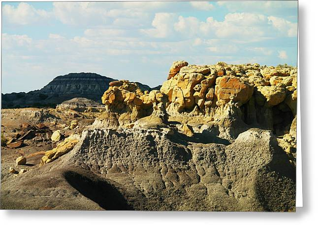 Almost Moonscape Greeting Card by Jeff Swan