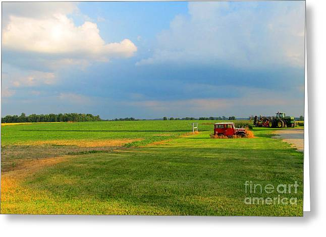 Almost Summer Landscape Greeting Card