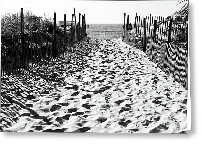 Almost There At Beach Haven Greeting Card