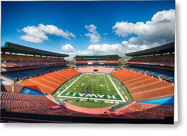 Aloha Stadium Greeting Card
