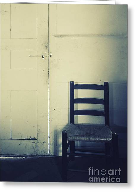 Alone In A Room Greeting Card by Margie Hurwich