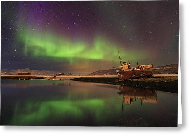 Alone In The Night ... Greeting Card by Iurie Belegurschi