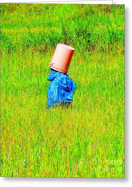 Alone With My Thoughts Greeting Card by Newel Hunter