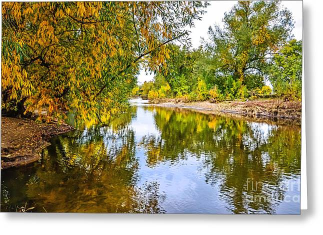 Along The Poudre Greeting Card by Baywest Imaging